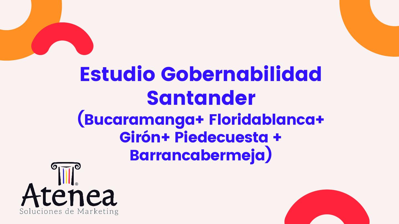 Estudio Gobernabilidad Santander